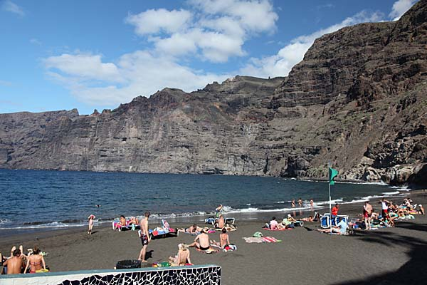 Strand in Los Gigantes